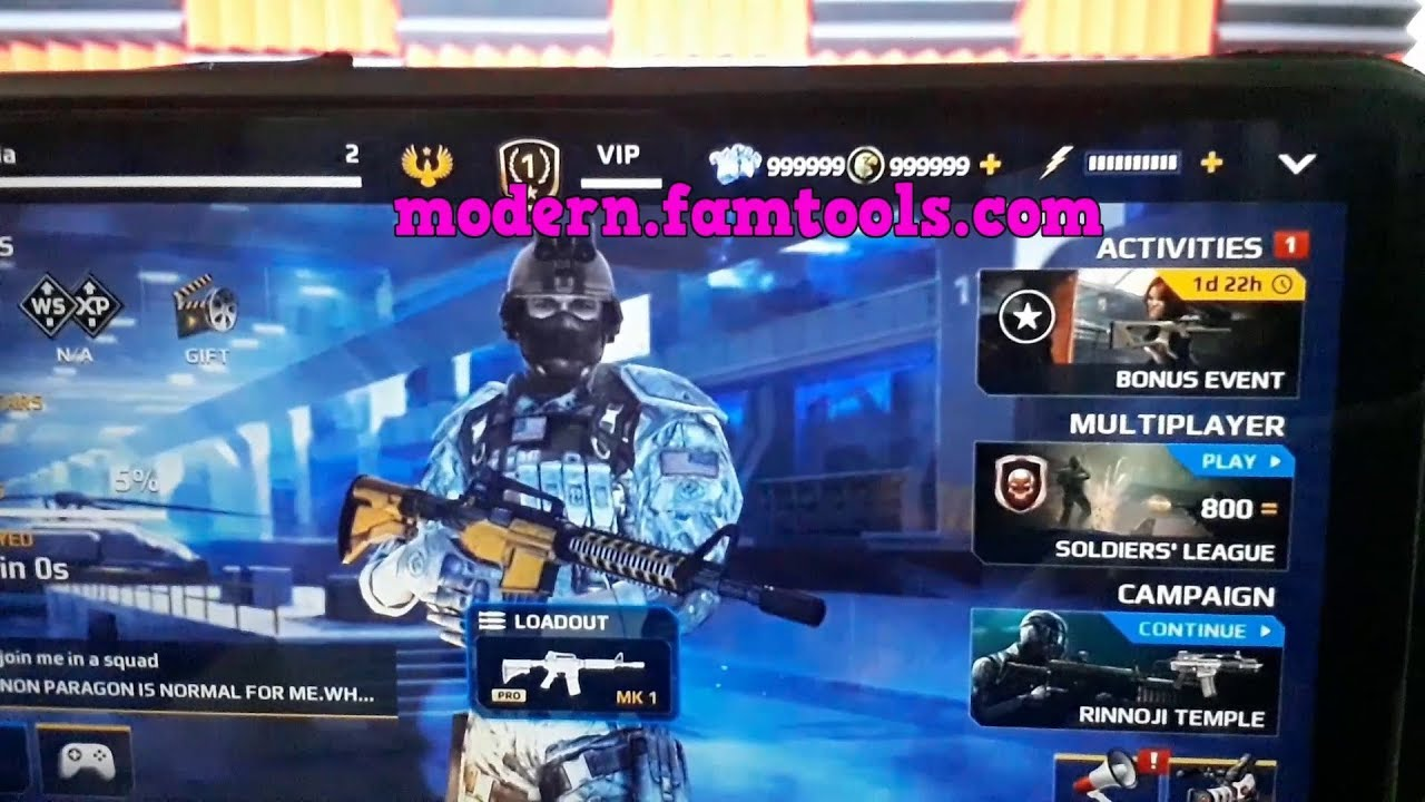 Download mod apk of modern combat 5 unlimited skill points