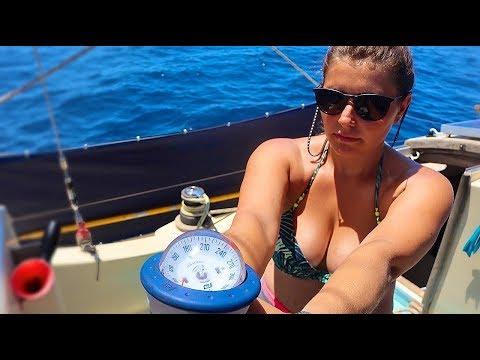 32] Old School Navigation Between Islands | Sailing Kittiwake
