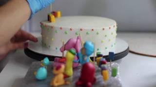 видео торт на заказ детский день рождения