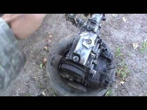 Как разобрать двигатель ВАЗ Ока 1 Часть
