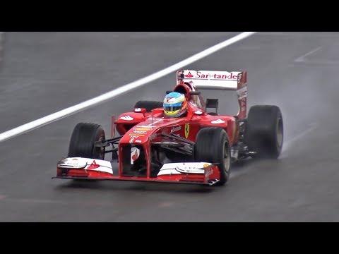 Ferrari F1 F138 Ex Alonso - EPIC V8 SOUNDS!!