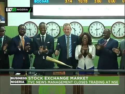 TVC News Management closes trading at the Nigerian Stock Exchange