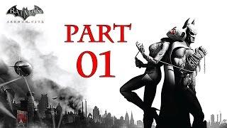 ►Batman Arkham City (Part - 01) - Let's Play [Croox] Jaknahry.cz◄