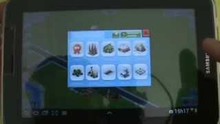 Gameplay Android Megapolis - Samsung Galaxy Tab P6210 - PT-BR Brasil