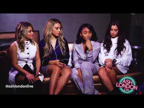 Fifth Harmony's interview with Ash London LIVE