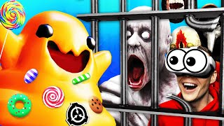 Escaping SCP PRISON With THE TICKLE MONSTER
