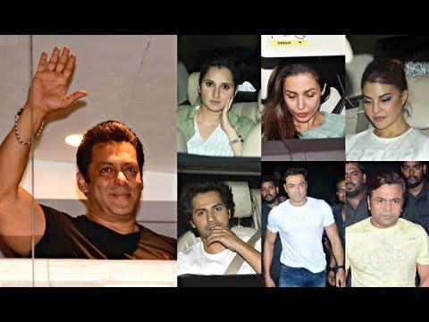 Bollywood Celebs Arrive To Meet Salman Khan After Bail In Black Buck Case