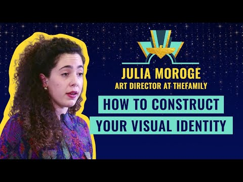 How to construct your visual identity, by Julia Moroge, Art Director at TheFamily
