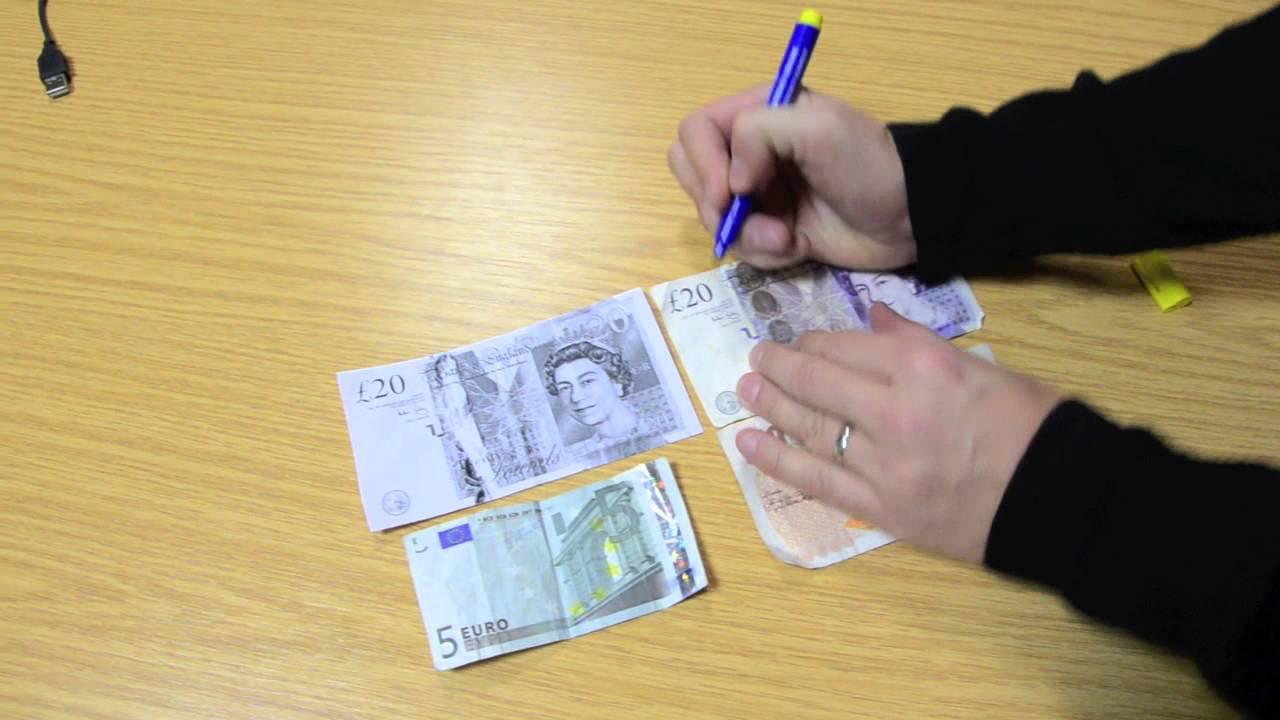 How to make fake 50 euro — photo 2