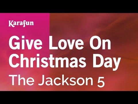 Karaoke Give Love On Christmas Day - The Jackson 5 *