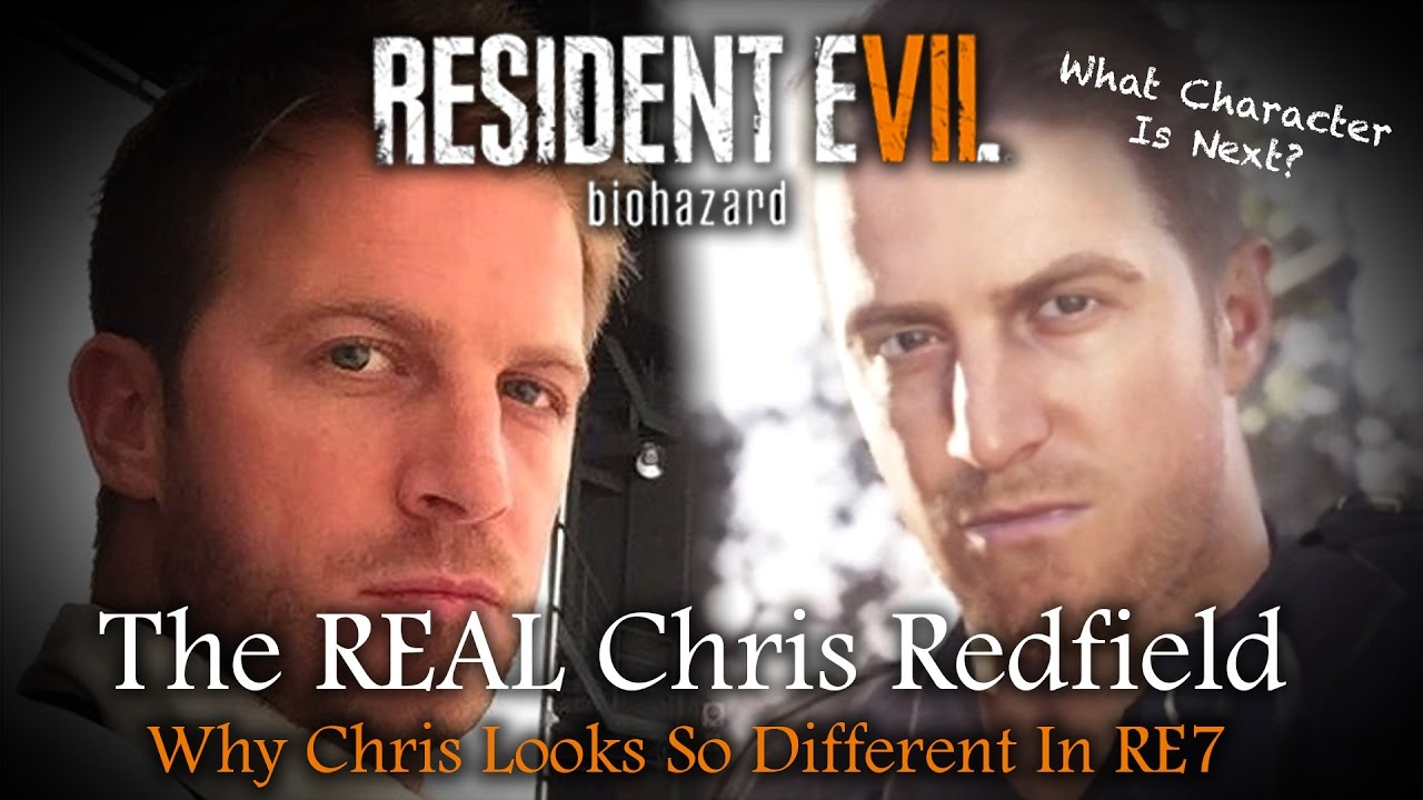 Resident Evil 7 Chris Redfield News Model Change Explained By