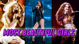 THE MOST BEAUTIFUL GIRL OF EACH YEAR | EUROVISION(2011-2021)