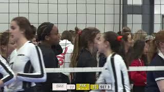 Volleyball Canada National 16U Girls Gold Medal Game Shock vs Pakmen