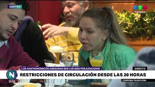 Coronavirus en Córdoba: los gastronómicos deben cerrar a las 20