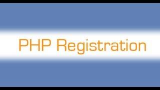 Уроки PHP. Регистрация и авторизация. Часть 1.