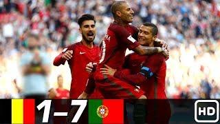 Португалия Бельгия 7 1 Обзор Контрольных Матчей 04 02 1987 02 06 2018 HD