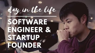 A day in the life of a software engineer and startup founder.