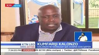 Kumfariji kiongozi wa chama cha wiper Kalonzo: Gideon Moi na Raila Odinga wamfariji Kalonzo