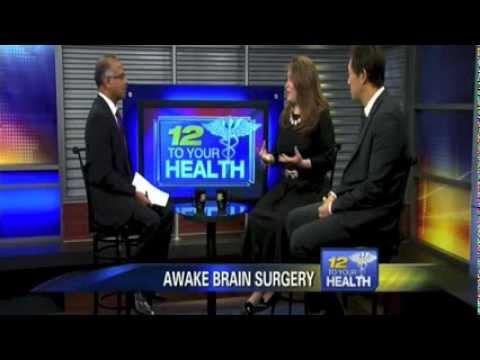 Awake Brain Surgery - Dr. Kevin Yao Explains Awake Brain Surgery On News 12 New Jersey