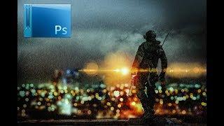 كيفية إنشاء ساحة المعركة لعبة مستوحاة من الأعمال الفنية في أدوبي Photohop