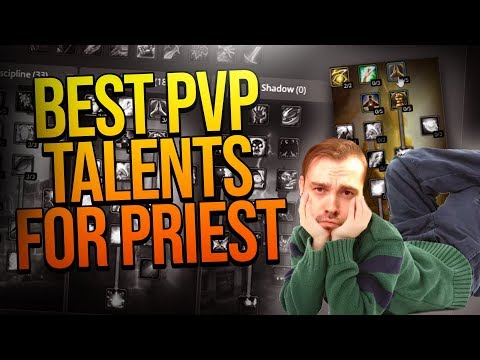 BEST Priest Healer PVP Talents For Phase 1