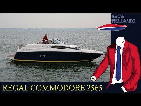 Regal Commodore 2565 [Test In Acqua]