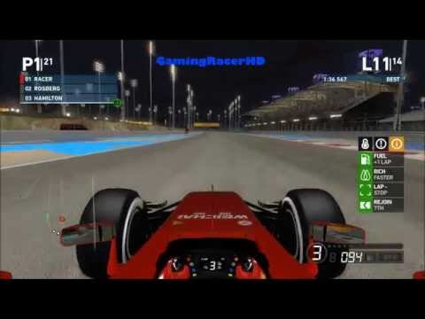 F1 2014 - Career Mode (Long Season 3) Race #22 - Bahrain Grand Prix [1080p HD 60FPS]