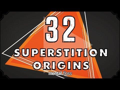 32 Superstition Origins - mental_floss on YouTube (Ep. 33)