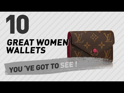 Louis Vuitton Women Wallets, Top 10 Collection // New & Popular 2017