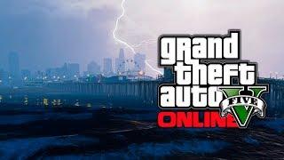 GTA 5: Tsunami & Water Flood Mods Or Glitch? - Underwater & Flooded Los Santos (GTA V Mods)