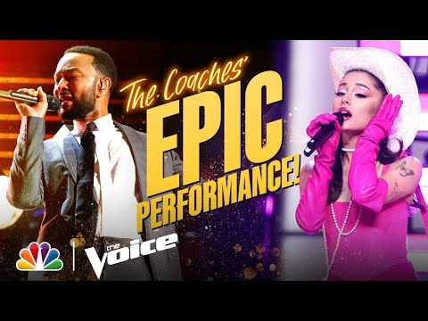 Ariana, Kelly, John and Blake Deliver an Incredible Coach Pe