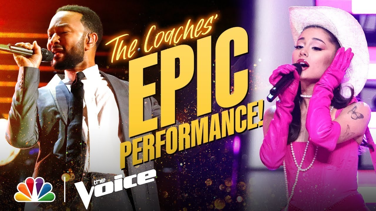 Download Ariana, Kelly, John and Blake Deliver an Incredible Coach Performance | The Voice 2021
