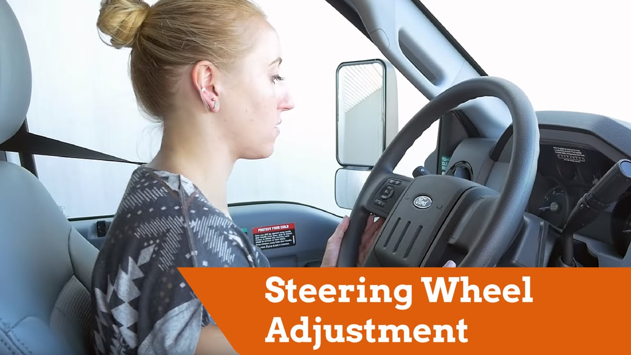 2016 Ford F650 >> U-Haul 26' F650 Moving Truck: Steering Wheel Adjustment ...
