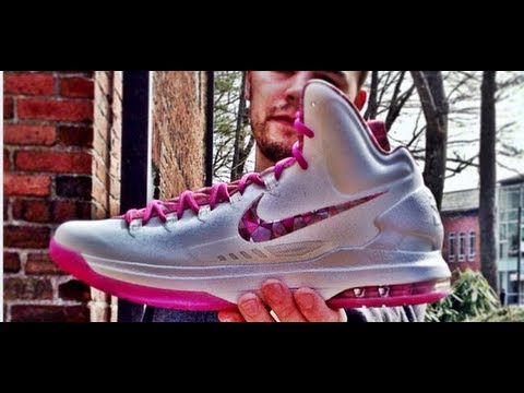 online retailer 7d85c 3690b Kevin Durant V 5 Aunt Pearl Review - Better Than KD IV Aunt Pearl