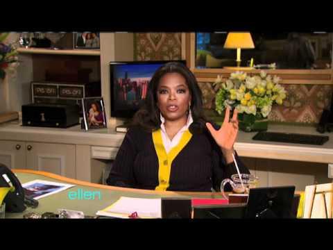 Oprah Winfrey Shocks Ellen!