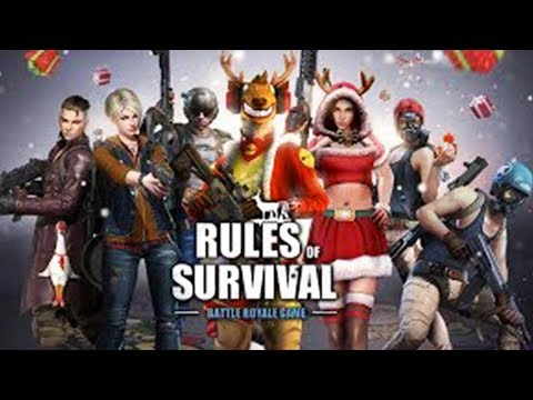 HUNT THE SANTA IN BATTLE ROYALE!   Rules of Survival