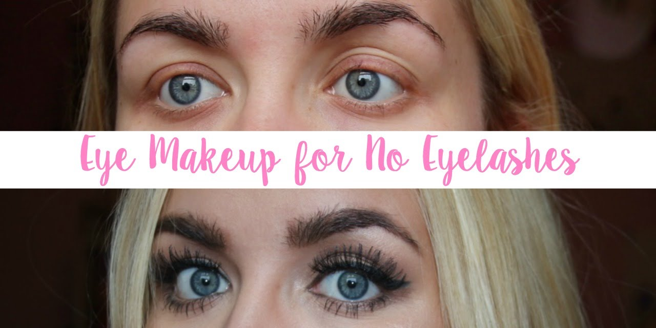 Eye Makeup For No Eyelashes Trichotillomania G Beauty Youtube