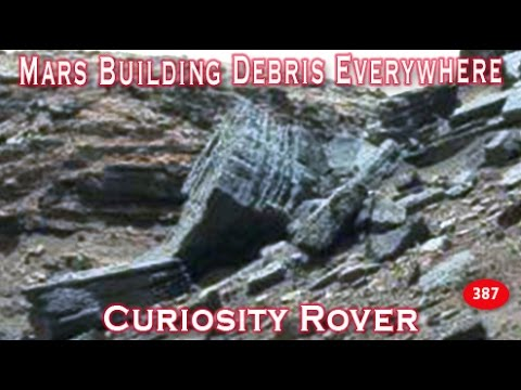 Mars Building Debris Everywhere In New Curiosity Rover Images