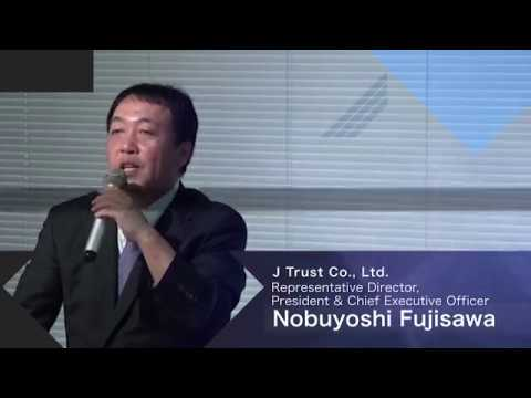 J Trust Co., Ltd. Earnings Presentation for the First Half of FY2018 (Nobuyoshi Fujisawa)