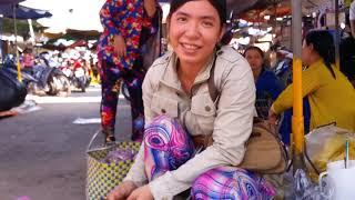 Khám phá Chợ THANH BÌNH ( Thị Trấn Thanh Bình, Đồng Tháp ) | Thanh Binh Market