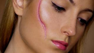 Easy Scar - Last Minute Halloween Makeup Tutorial