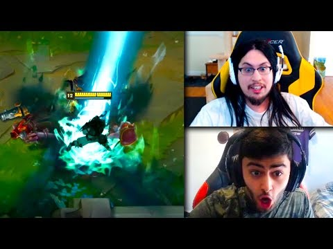 Yassuo Shiphtur & QT React To Pyke GAMEPLAY | INSANE TFblade 1v5 Ft. Imaqtpie | LoL Funny Moments