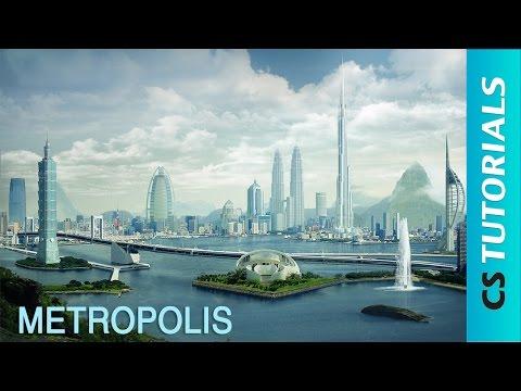 Metropolis - Photo Manipulation Tutorial ( #Photoshop ) | CreativeStation GM