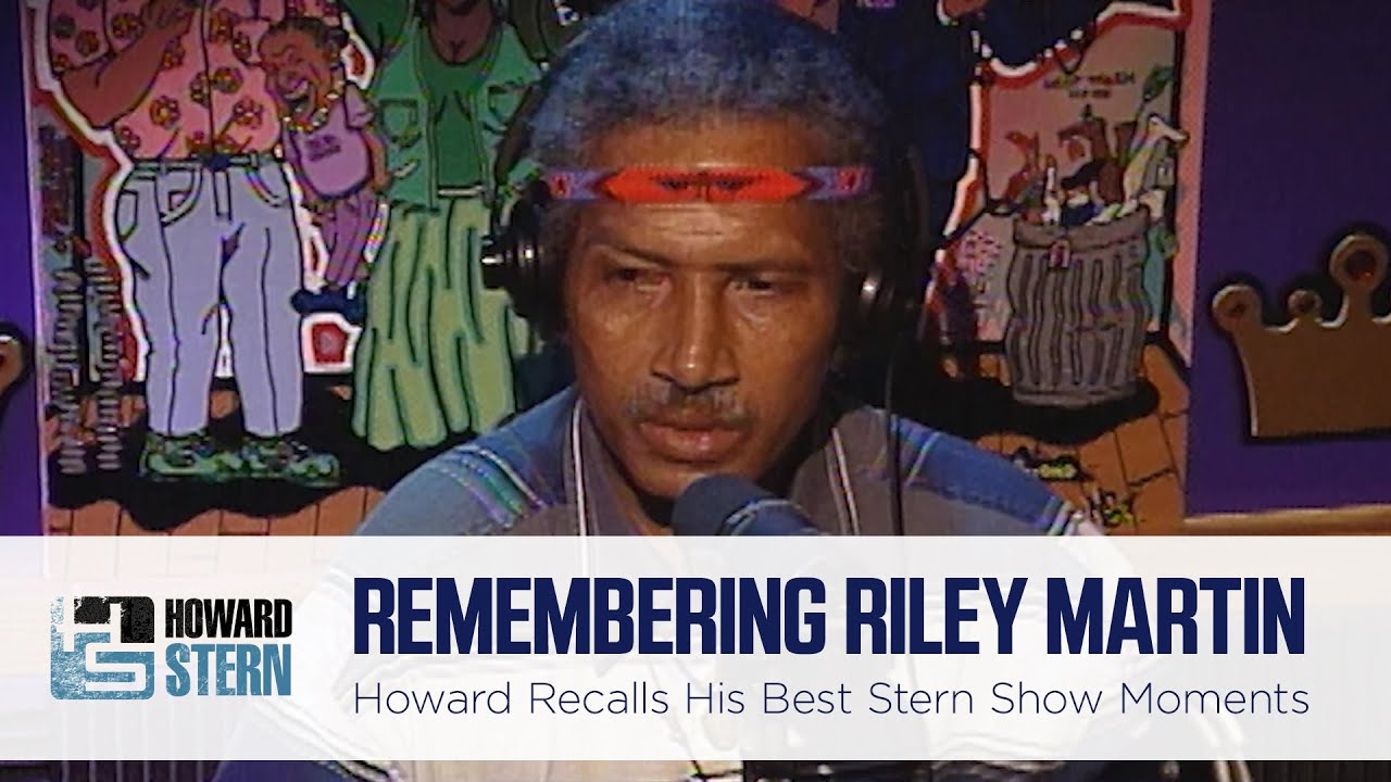 Howard Stern on Riley Martin's Most Far-Out Moments