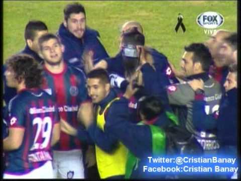 Bolivar 1 San Lorenzo 0 (Radio Fides Bolivia) Copa Libertadores 2014 (30/7/2014)