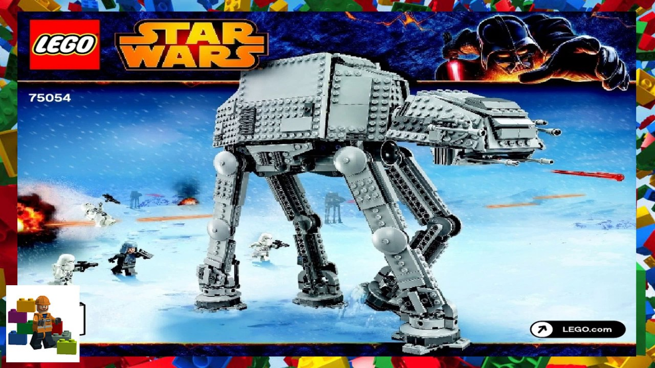 Lego Instructions Star Wars 75054 At At Book 1 Youtube
