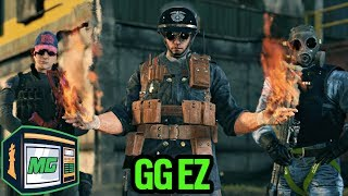 Easiest Ranked Game Of My Life - Rainbow Six Siege