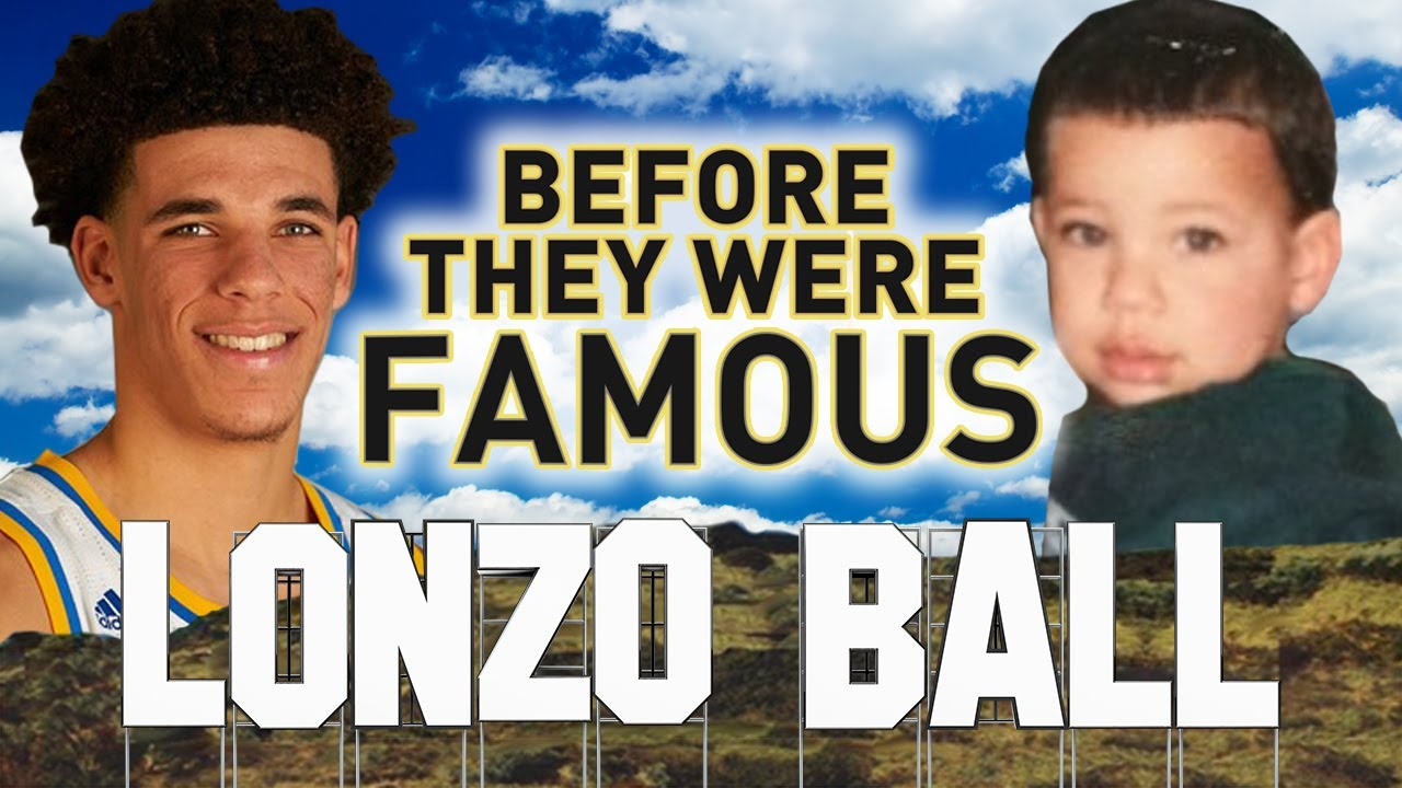 LONZO BALL - Before They Were Famous - LA Lakers