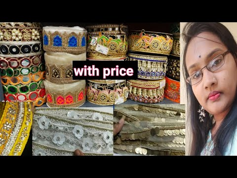 #sareelaces#designerlace Latest Collection Saree Laces