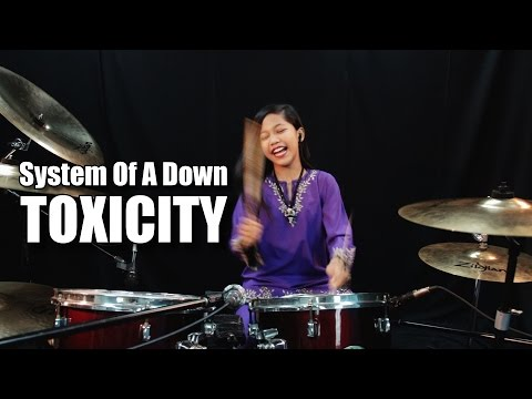System Of A Down - Toxicity Drum Cover by Nur Amira Syahira